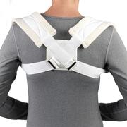 OTC Clavicle Strap, Figure-8 Design, White, Medium (2453-M)
