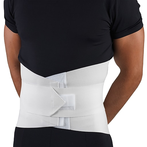 OTC Lumbosacral Support with Abdominal Uplift, 2L, White, (2890-2L)