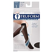 Truform Women's Stockings, Knee High, Sheer: 15-20 mmHg, M, NUDE (1773ND-M)