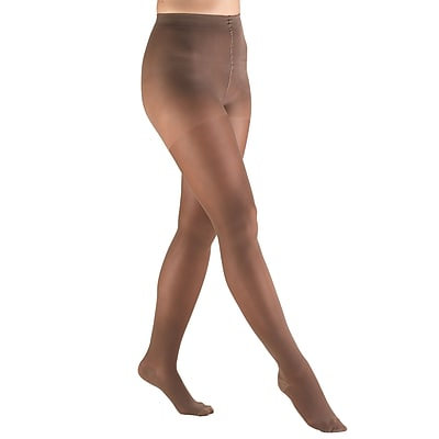 Truform Sheer Pantyhose: 30-40 mmHg, XL, TAUPE (0255TP-XL)