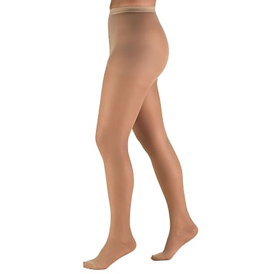 Truform Sheer Pantyhose: 15-20 mmHg, QP, LIGHT BEIGE (1775LB-QP)