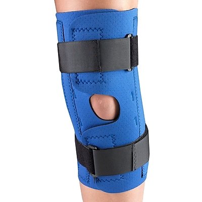 OTC Neoprene Knee Stabilizer Wrap - Spiral Stays, 4L (0312-4L)