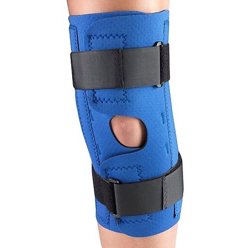 OTC Neoprene Knee Stabilizer Wrap - Spiral Stays, S (0312-S)