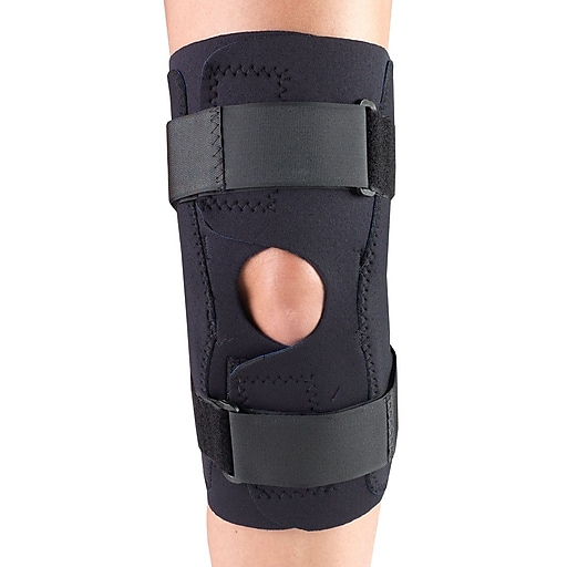 OTC Neoprene Knee Stabilizer Wrap - Hinged Bars, S (0311BL-S)