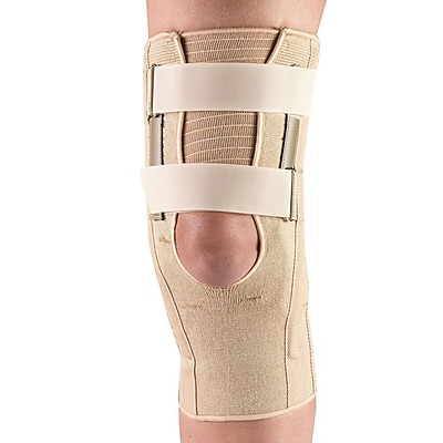 OTC Knee Support with Condyle Pads And Expansion Panel, L (2555V-L)