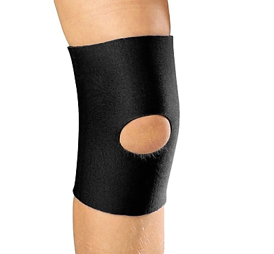 OTC KidsLine Knee Sleeve with Open Patella, M (0316BL-M)