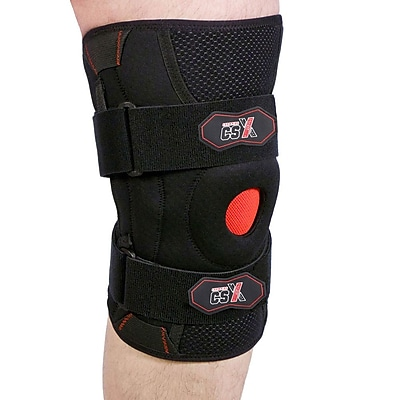 CSX Knee Support with Flexible Side Stabilizers, M (X525-M)
