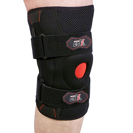 CSX Knee Support with Flexible Side Stabilizers, 2L (X525-2L)