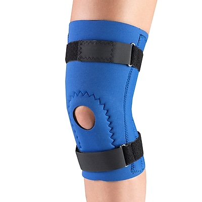 OTC Neoprene Knee Support - Hor-Shu Pad, Spiral Stays, L (0144-L)