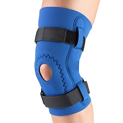 OTC Neoprene Knee Support - Hor-Shu Pad, Hinged Bars, S (0143-S)