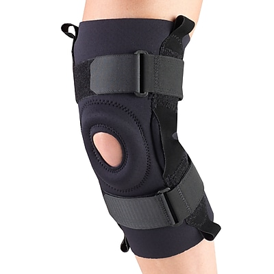 OTC Neoprene Knee Stabilizer - Hinged Bars, M (0310BL-M)