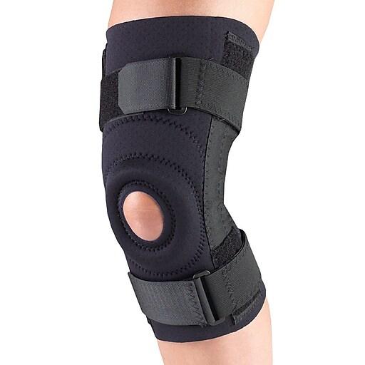OTC Neoprene Knee Stabilizer - Spiral Stays, L (0308BL-L)