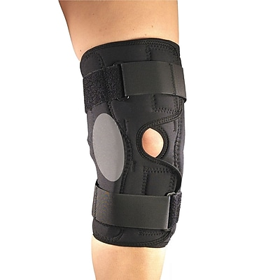 OTC Orthotex Knee Stabilizer Wrap with ROM Hinged Bars, XL (2549-XL)