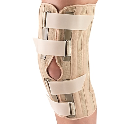 OTC Knee Support with Condyle Pads - Front Opening, M (2545-M)
