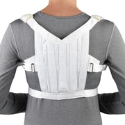 OTC Posture Control Shoulder Brace, White, Medium (2455-M)