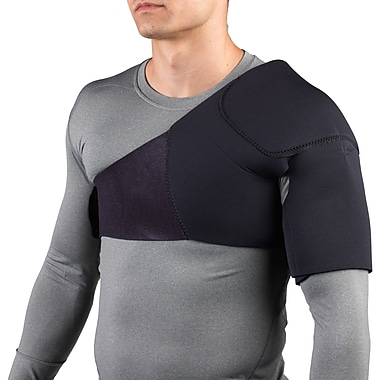 OTC Neoprene Shoulder Support, Black, Small (0327-S)