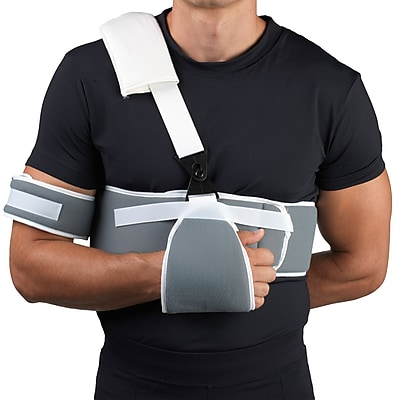 OTC Sling and Swathe Shoulder Immobilizer, Gray, Universal (2465)
