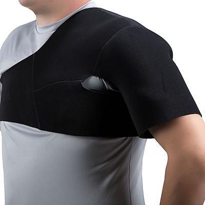 Champion Select Series Neoprene Shoulder Support, Black, Medium (2451-M)