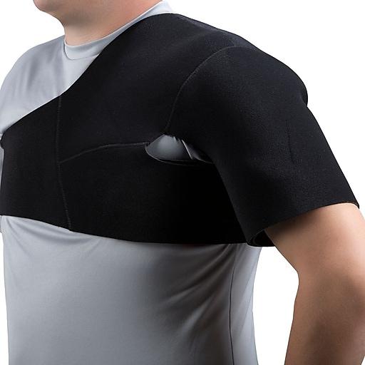 OTC Select Series Neoprene Shoulder Support, Black, Small (2451-S)