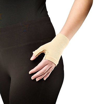 Truform Lymphedema Compression Gauntlet: 20-30 mmHg, Medium (3322BG-M)