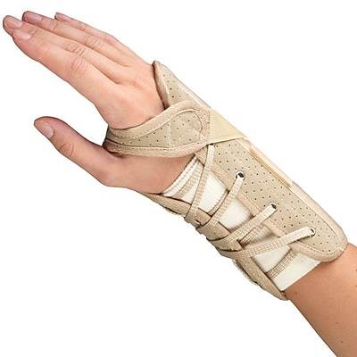 OTC Cock-Up Wrist Splint - Suede Finish, Right Hand, Medium (2360/R-M)