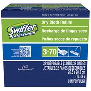 Swiffer Sweeper Dusting Cloth Refills, White, 32/Pack (33407)