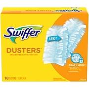 Swiffer Cloth Multi-Surface Refills, Blue, 18/Box (99036)