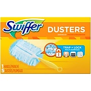 Swiffer Dusters Blend Kit, Blue, 5/Box (40509)