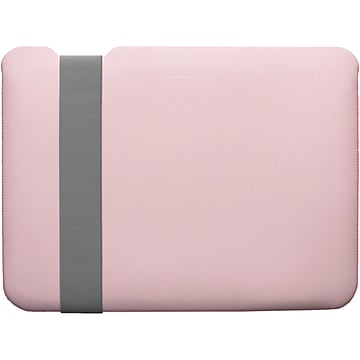 Acme Made Skinny StretchShell Neoprene Laptop Sleeve for 13  Laptops, Pink/Grey (AM10371)