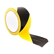 Bertech BERST series Safety Awareness Tape, Black/Yellow (BERST-4BY)