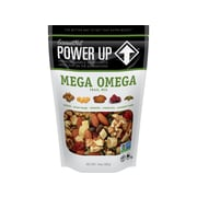Gourmet Nut Power Up Nuts & Seeds, Mega Omega Trail Mix, 14 Oz., 6/Carton (2103)