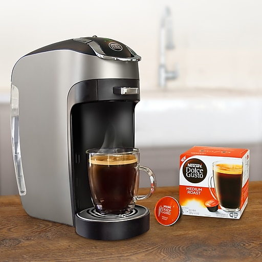 Nescafe Esperta Machine Dolce Gusto 2.0 Capsule Coffee Machine, Black (NES87104)