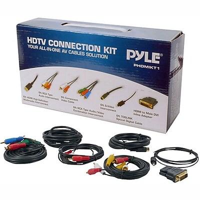 Pyle 93579112M HDTV Audio/Video Cable Connection Kit