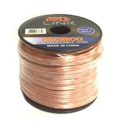 Pyle 93598854M 18 Gauge 100 ft. Spool of High Quality Speaker Zip Wire