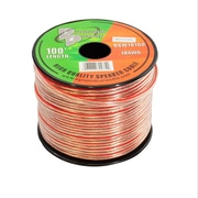 Pyramid 93580550M 18 Gauge 100 ft. Spool of High Quality Speaker Zip Wire