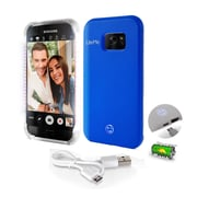SereneLife SL302S7BL Blue LED Illuminated Phone Case for Samsung Galaxy S7 Edge