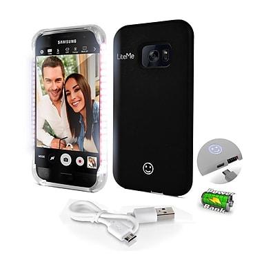 SereneLife SL302S7BK Black LED Illuminated Phone Case for Samsung Galaxy S7 Edge