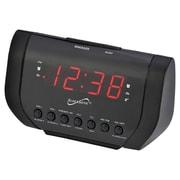 Supersonic 93598415M Dual Alarm Clock Radio with USB Charging Port