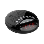 Axess 93598448M Dual AM/FM Alarm Clock Radio