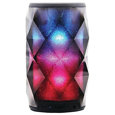 Supersonic 93598411M Color Changing Portable Bluetooth Speaker