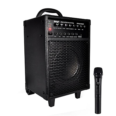 Pyle 93598976M Wireless Portable Bluetooth PA Speaker System