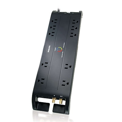 Philips 93597489M Surge Protector with Cable Management