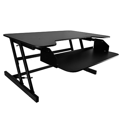 Pyle Home Universal Computer Laptop Workstation Stand - Siting/Standing Desk (93599054M)