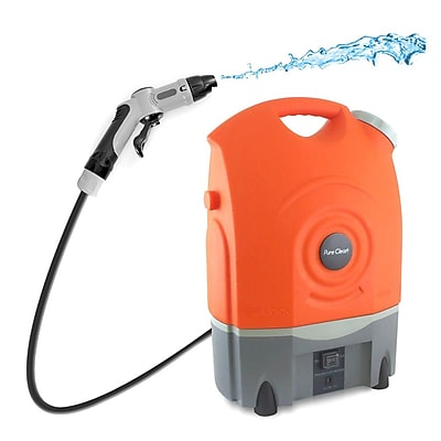 Pyle Pure Clean 4.5 Gallon Portable Pressure Wash Cleaning System (93599010M)
