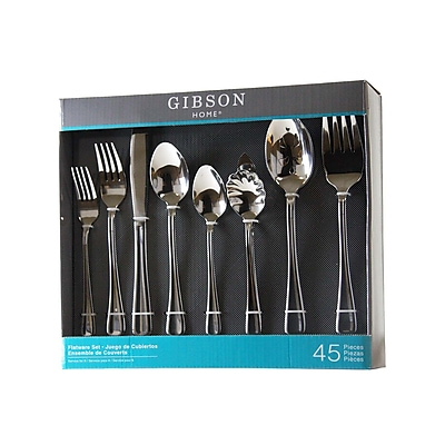 Gibson Home 45 Piece Flatware Set 93597813M