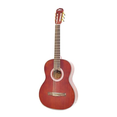 Pyle Pro PGA32RBR 6-String Acoustic Guitar, Wood, Red Brown
