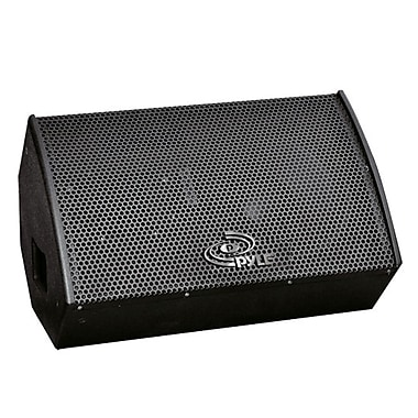 Pyle PPAD15 400 W RMS Indoor Stage Monitor Speaker Cabinet, Black