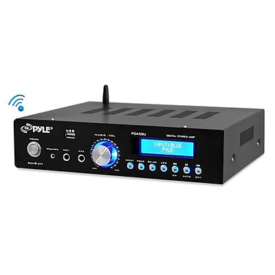 Pyle Home 200W Bluetooth Stereo Amplifier PDA5BU with AM/FM/USB/AUX
