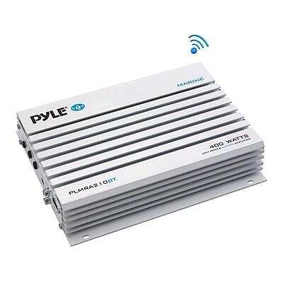 Pyle Bridgeable 400W 2-Channel Bluetooth Amplifier PLMRA210BT Waterproof