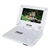Pyle Home PDV71WT 7'' Portable CD/DVD Player, White